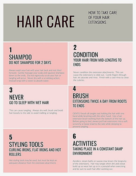 All tips to protect your Human Hair Extension