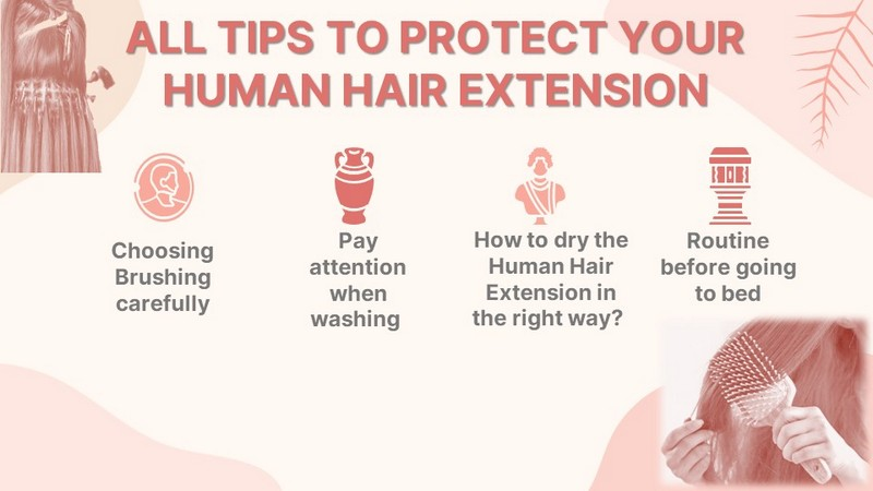 How to take care of your Human Hair Extension?