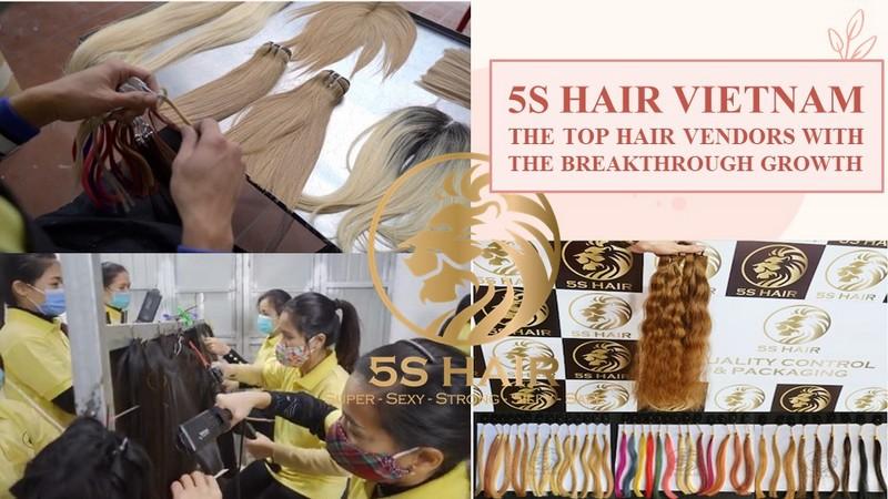 5S Hair Vietnam - The top hair vendors with the breakthrough growth
