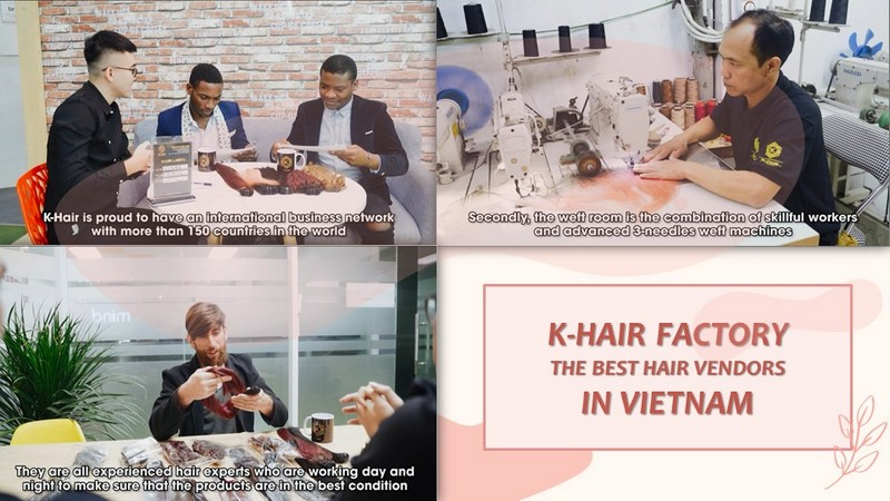 K-Hair Factory – The best hair vendors in Vietnam